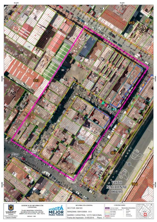 Problemática del Bronx: Predios en el Bronx están avaluados en más de $8.000 millones