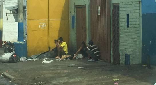drogadicción calle del bronx: En Bucaramanga hay ollas del microtráfico esparcidas por toda la ciudad