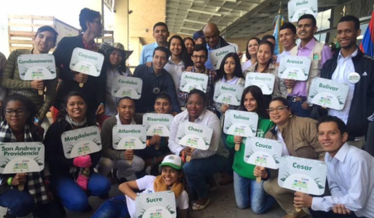 """Los jóvenes de """"ambiente"""" se reúnen en Bogotá"""