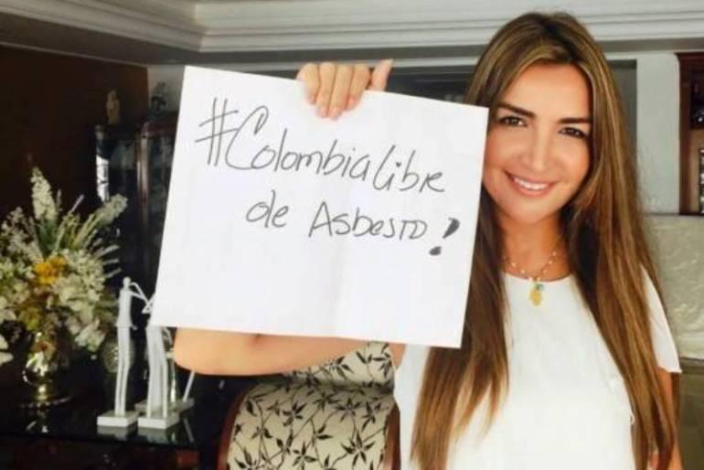 Aprobación del proyecto de ley contra el asbesto es histórico para Colombia: Senadora Nadia Blel: Aprobación del proyecto de ley contra el asbesto es histórico para Colombia: Senadora Nadia Blel