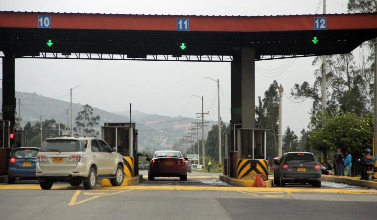 Sube la tarifa de los peajes de la doble calzada Bogotá-Tunja-Sogamoso en Boyacá: Sube la tarifa de los peajes de la doble calzada Bogotá-Tunja-Sogamoso en Boyacá