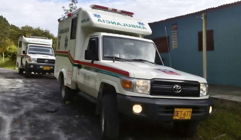 Derrumbe en vias de Norte de Santander: Vía aérea fueron evacuados pacientes atrapados entre Norte de Santander y Arauca