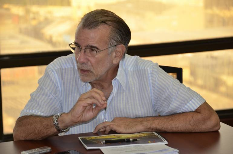 Gobernador del Atlántico, Eduardo  Verano.