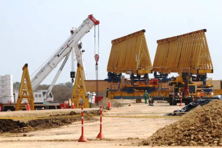 Exigen mayor control a la construcción del viaducto Cartagena - Barranquilla