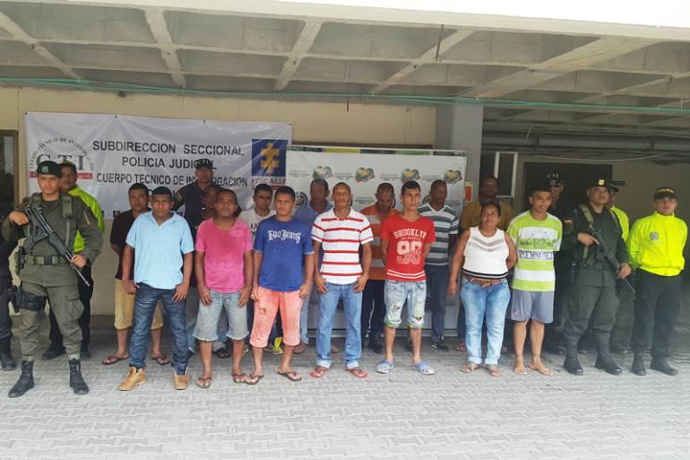 Capturan a banda delincuencial que hurtaba hidrocarburos en Bolívar y Atlántico