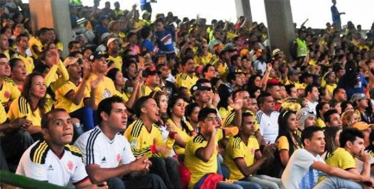 Selección Colombia: Barranquilleros vibraron con triunfo de Colombia ante Perú