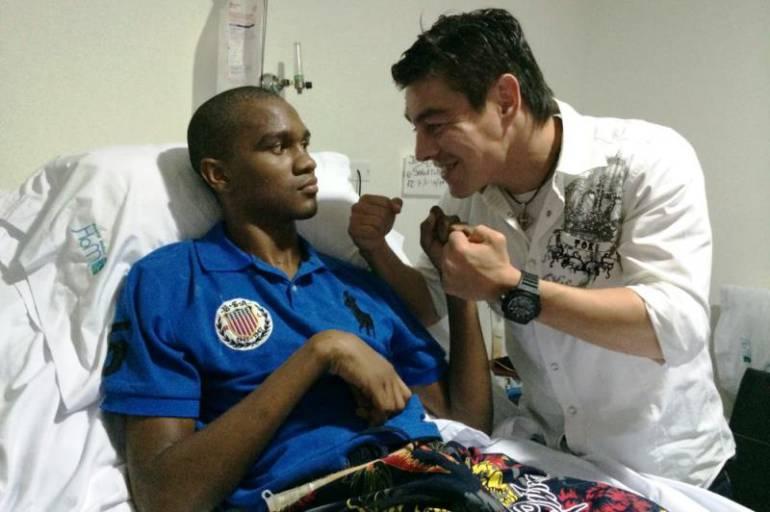 boxeador José Carmona: El boxeador José Carmona aún espera servicio de enfermería