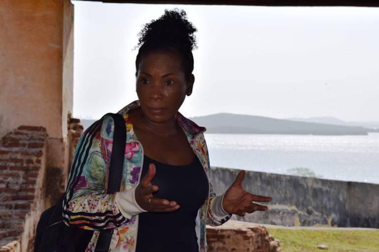 Viceministra de Cultura visita las Fortificaciones de Cartagena: Viceministra de Cultura visita las Fortificaciones de Cartagena