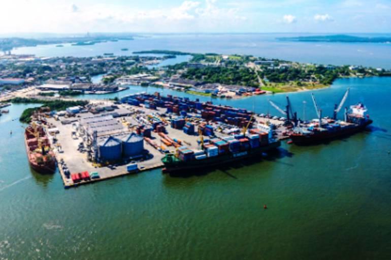 Denuncian expansión irregular de los puertos sobre la Bahía de Cartagena: Denuncian expansión irregular de los puertos sobre la Bahía de Cartagena