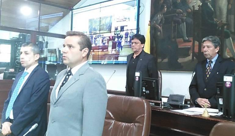 Secretario General del Concejo de Bogotá renunció