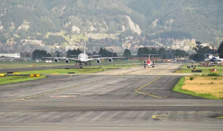 Cierre del aeropuerto El Dorado el 20 de julio