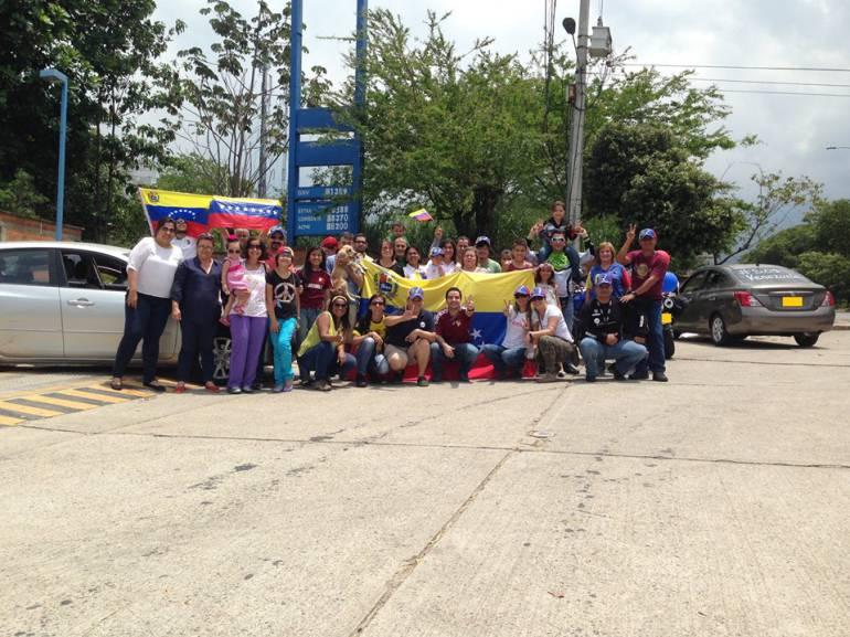 Venezolanos cruzan la frontera y se quedan en Bucaramanga