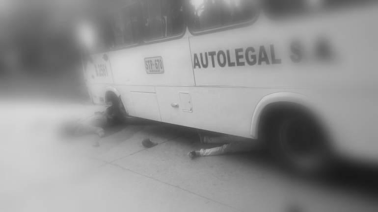 Dos víctimas fatales deja accidente de tránsito en la vía a Neira