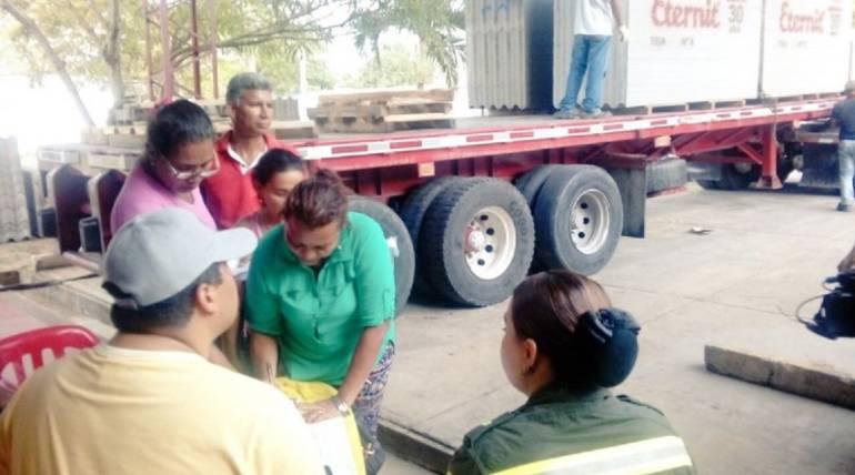 Vendaval en Atlantico: Damnificados en Sabanalarga comienzan a recibir ayudas
