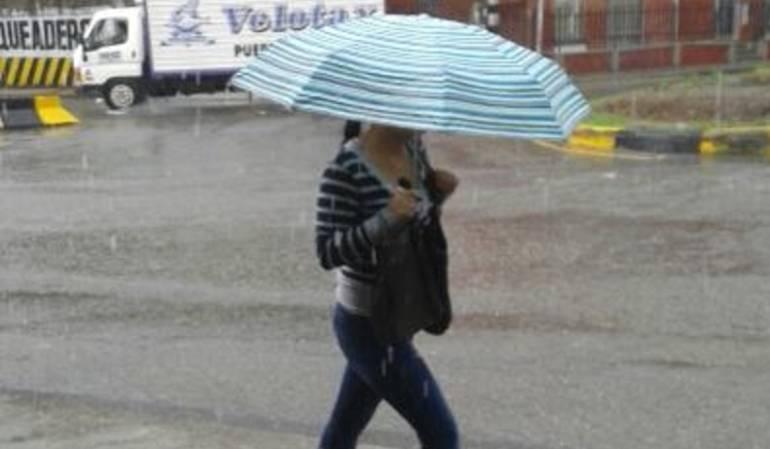 Emergencias por lluvias: En máxima alertan organismos de socorro en Quindío por aumento de las lluvias