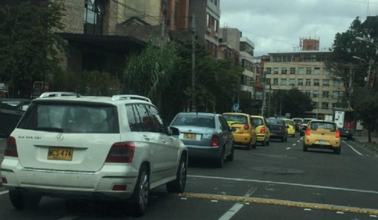Piden cambiar señalización que instaló el Distrito en la Zona G en Chapinero