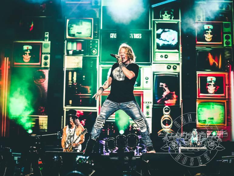 """Entradas para Guns N' Roses en Chile ya agota localidades"""""""