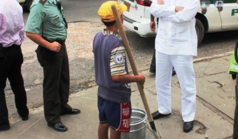 Aumenta el numero de niños explotados laboralmente en Cúcuta.