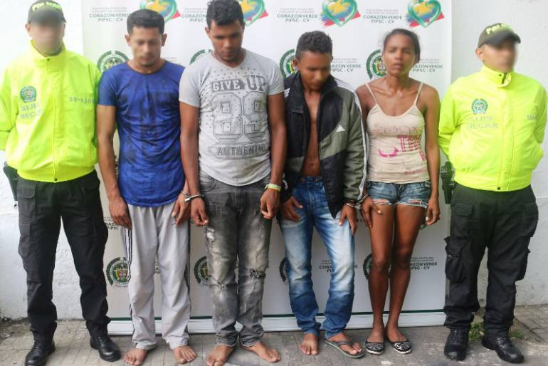 Policía de Cartagena capturó a cuatro presuntos miembros del clan del Golfo: Policía de Cartagena capturó a cuatro presuntos miembros del clan del Golfo