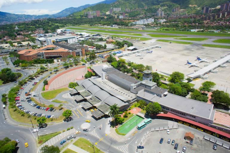 VUELOS INTERNACIONALES PERMANENTES: Aeropuerto Olaya Herrera recibirá permanentemente vuelos internacionales