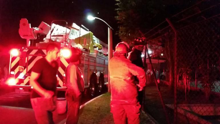 Ocho heridos deja explosión en empresa de tinturas y telas en Barbosa, Antioquia