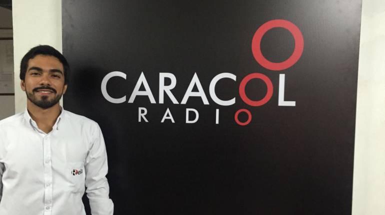 Gabriel Olier, un joven que responde al reto del emprendimiento