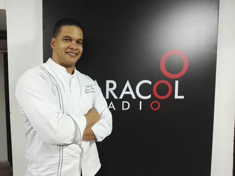 Juan Peña, el chef puertorriqueño que cocina paz en Barranquilla
