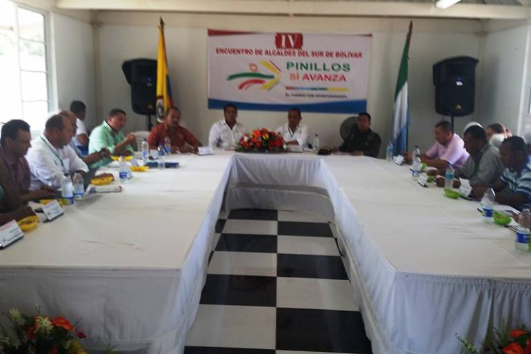 Alcaldes del Sur de Bolívar se unen para gestionar recursos para sus municipios: Alcaldes del Sur de Bolívar se unen para gestionar recursos para sus municipios