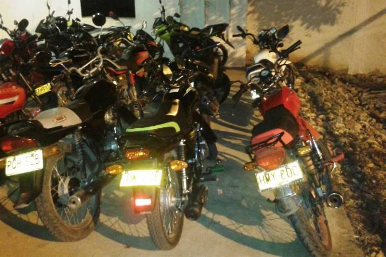 Nueve motocicletas que habían sido robadas, fueron recuperadas en Saboyá, Boyacá: Nueve motocicletas que habían sido robadas, fueron recuperadas en Saboyá, Boyacá