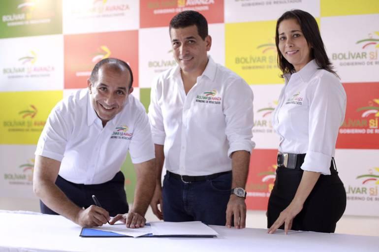 Suscriben convenio para terminar vía Cascajal – Chaparral en Bolívar: Suscriben convenio para terminar vía Cascajal – Chaparral en Bolívar