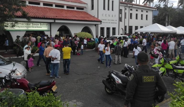 Aumentan controles a los venezolanos que ingresan a Colombia