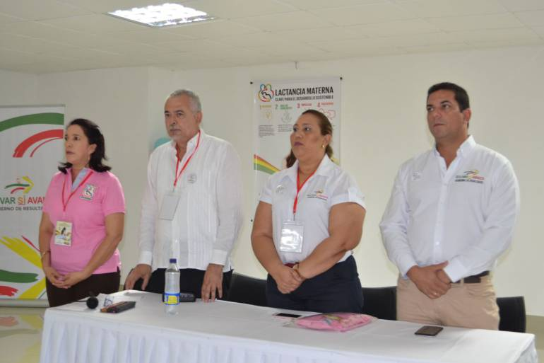 Foro en apoyo a la lactancia materna en Bolívar: Foro en apoyo a la lactancia materna en Bolívar