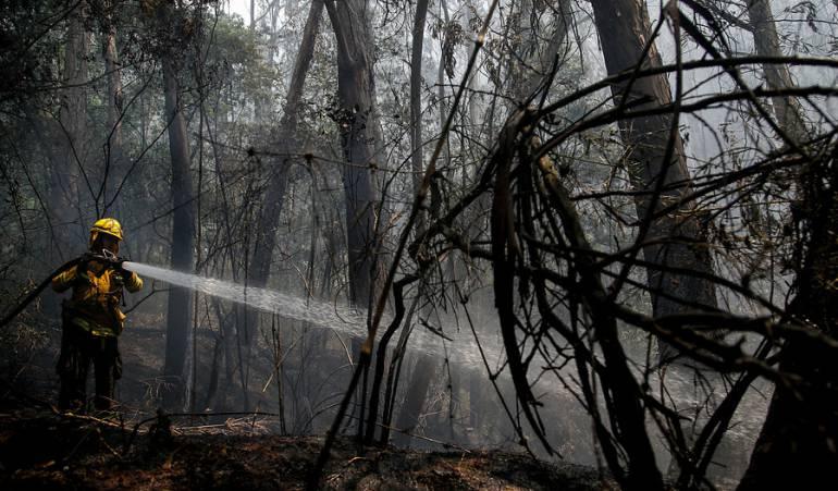 Incendios forestales Huila: Emergencia en Huila por incendios forestales