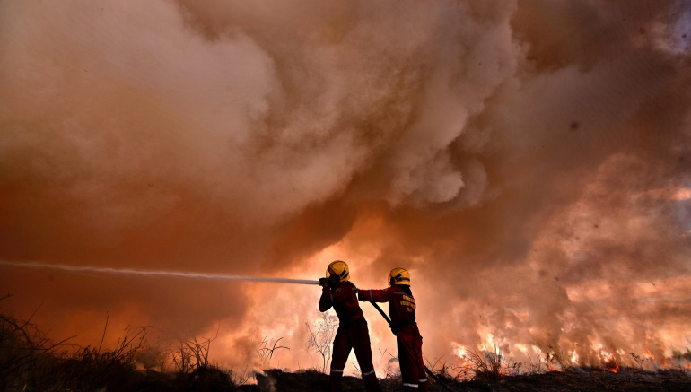 Advierten alerta máxima por verano e incendios forestales en Boyacá: Advierten alerta máxima por verano e incendios forestales en Boyacá