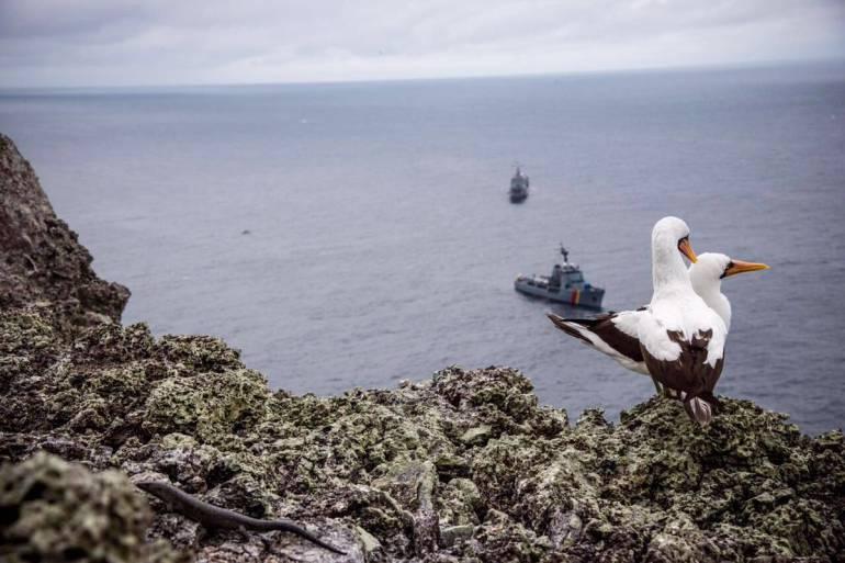 Autoridades colombianas buscan a cuatro buzos desaparecidos en el Pacífico
