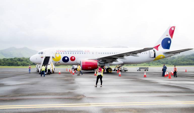 La aerolínea hoy ya tiene desde Pereira vuelos hacia Bogotá y Cartagena.