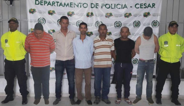 En operación 'Némesis V' se capturaron 109 miembros de bandas criminales
