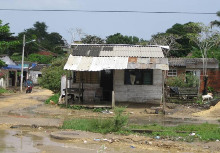 Problemas en Pasacaballos, Cartagena: Habitantes de Pasacaballos, en Cartagena, reclaman mejores vías y servicios públicos