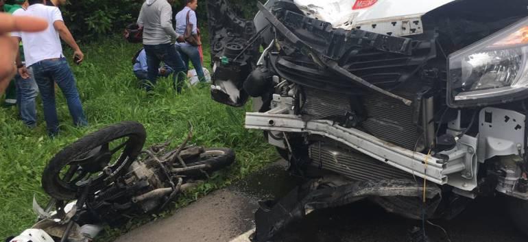 Accidente en el Atlántico: Un muerto y un herido en accidente en la Cordialidad