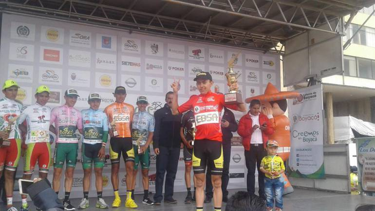 Óscar Rivera, Campeón de la Vuelta a Boyacá 2016: Óscar Rivera, Campeón de la Vuelta a Boyacá 2016