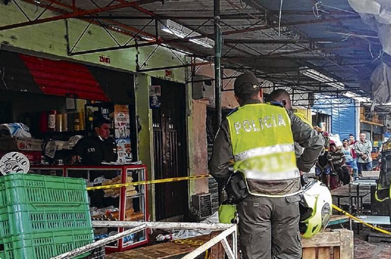 Medida de aseguramiento por masacre en galería Santa Elena: A la cárcel presunto responsable por muerte de cuatro personas en galería Santa Elena