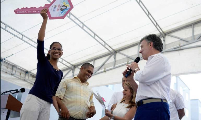 """Santos y el plebiscito por la paz.: """"Amor de los ciudadanos se expresa en las urnas"""", dijo Santos a Barranquilla"""