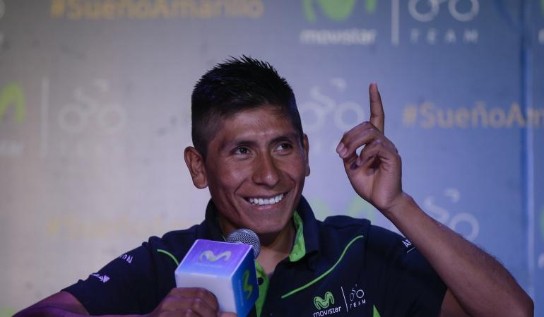 Como en una contrarreloj, Nairo Quintana tendrá un fin de semana de homenajes