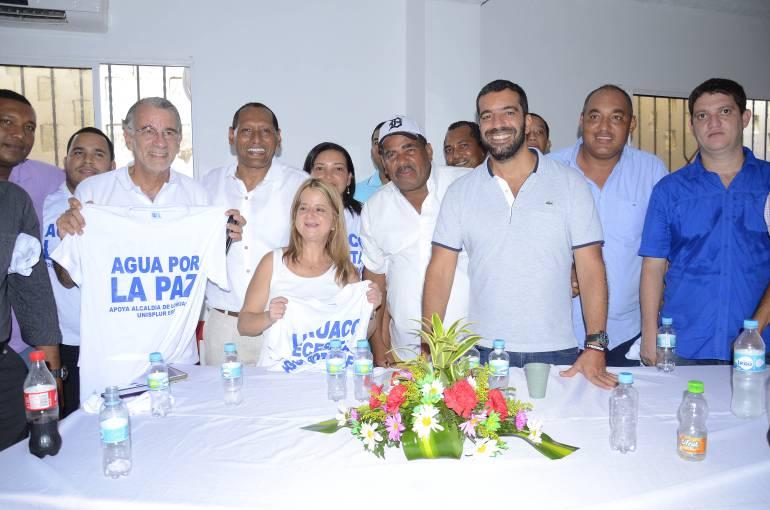 Buscan solución definitiva a problema de agua potable en Luruaco.