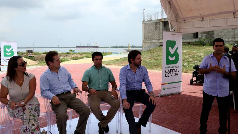 Con firma de convenio se consolida proyecto urbanístico a orillas del río