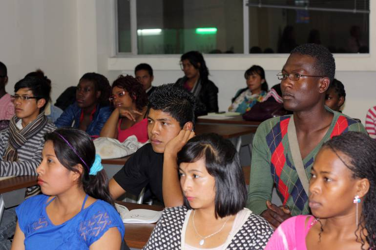 Afros e indígenas harán pedagogía por la paz en Cartagena, de cara al plebiscito: Afros e indígenas harán pedagogía por la paz en Cartagena, de cara al plebiscito