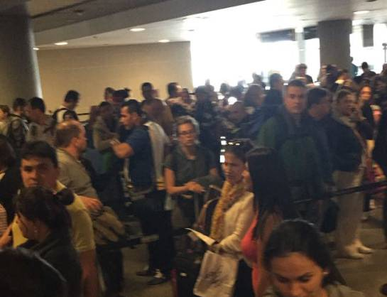 Largas filas en el aeropuerto El Dorado: ¿Qué está pasando en El Dorado?