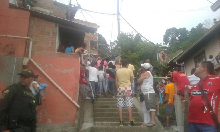 muertos, enciso, intolerancia, cinco, medellín: Cinco personas muertas y 4 heridas deja ataque con machete en Medellín