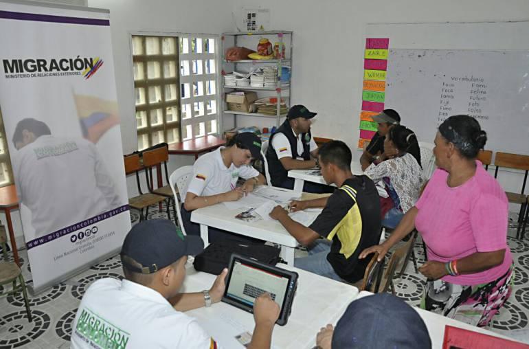Alcaldía de Cartagena arranca atención a venezolanos en Bayunca con 200 personas: Alcaldía de Cartagena arranca atención a venezolanos en Bayunca con 200 personas