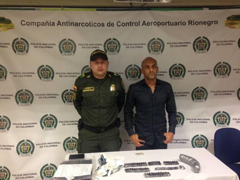 Diego León Osorio detenido por la policía